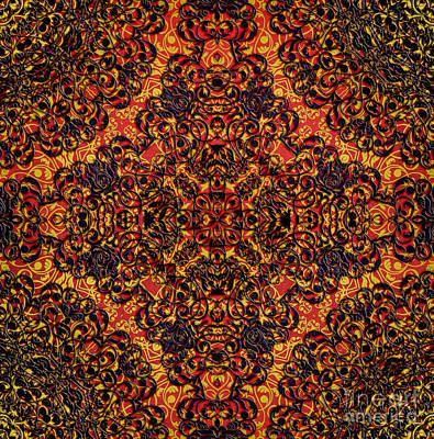 Colored Digital Art - Magic 15 by Justyna JBJart