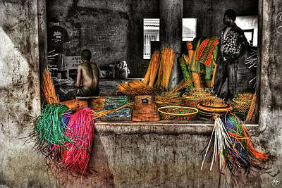 Photograph - Magic Baskets by Wayne King