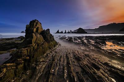 Perspective Photograph - Magic Beach by Alberto Garc?a