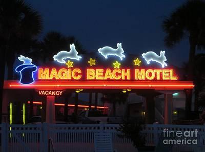 Photograph - Magic Beach Motel by Tim Townsend