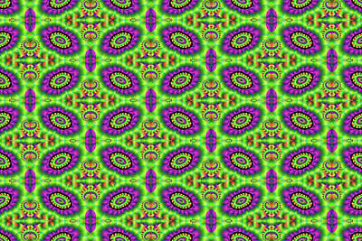 Digital Art - Magic Bean Pattern by Michelle McPhillips