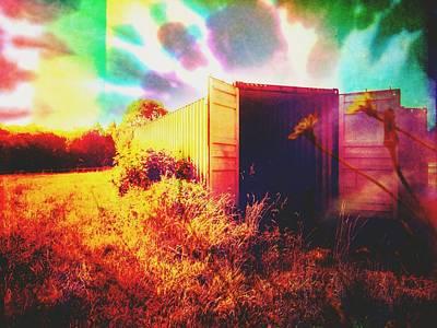 Barnyard Digital Art - Magic Box by Madison Adams