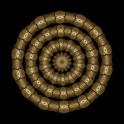 Digital Art - Magic Brass Rings by Doug Morgan
