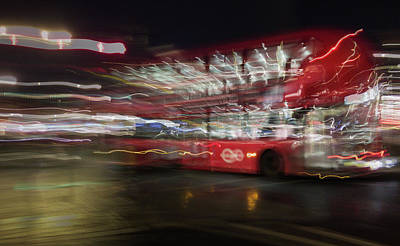 Photograph - Magic Bus by Alex Lapidus