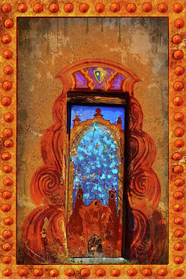 Digital Art - Magic Door Of Santa Fe by Susan Vineyard