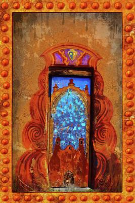 Digital Art - Magic Door Of Santa Fe by Susan Vineyard