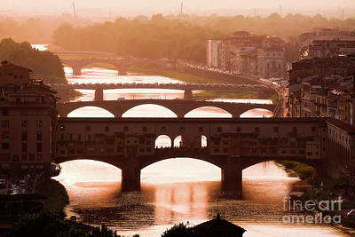 Photograph - Magic Florence by Giuseppe Torre