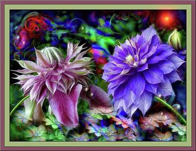 Garden Flowers Photograph - Magic Flowers  by Daniel Arrhakis