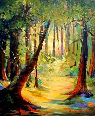 Painting - Magic Forest by Caroline Patrick