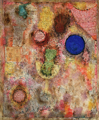 Curve Painting - Magic Garden by Paul Klee