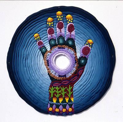Magic Hand Art Print by Arla Patch