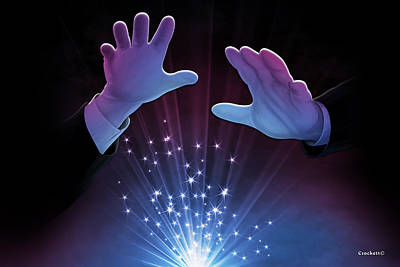 Photograph - Magic Hands 2 by Gary Crockett