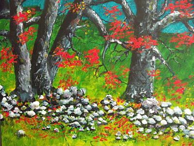 Magic Hillside Art Print by Dan Whittemore