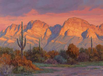 Arizona Painting - Magic Hour by Cody DeLong
