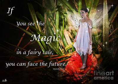 Photograph - Magic In A Fairy Tale by Sandra Clark
