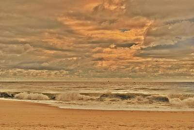 Magic In The Air - Jersey Shore Art Print by Angie Tirado