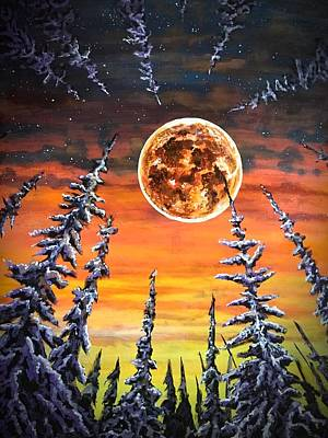 Painting - Magic In The Night by Joel Tesch