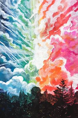 Painting - Magic In The Sky by Joel Tesch