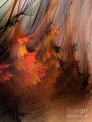 Contemporary Abstract Digital Art - Magic by Karin Kuhlmann