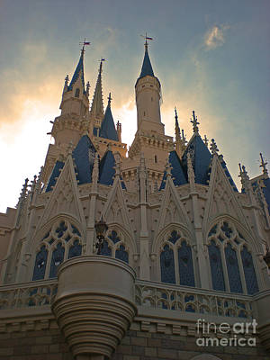 Magic Kingdom - Cinderella Castle Art Print
