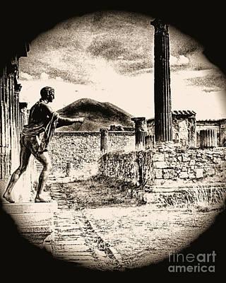 Magic Lantern Pompeii Art Print