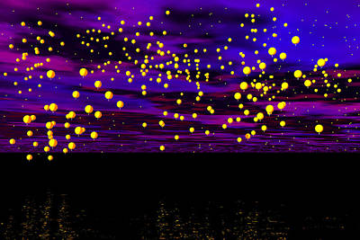 Photograph - Magic Lanterns by Mark Blauhoefer