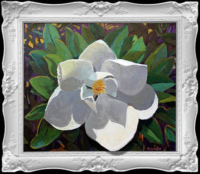 Painting - Magic Magnolia by Mark Lunde