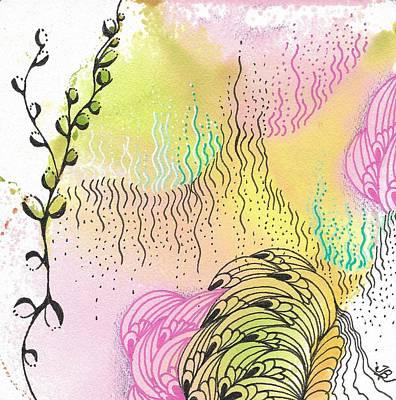 Drawing - Magic Mist by Jan Steinle
