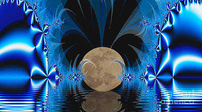 Magic Moon Art Print by Geraldine DeBoer