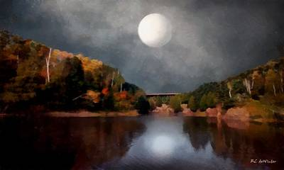 Painting - Magic Moonlight by RC deWinter