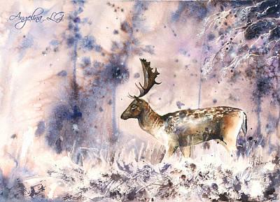 Painting - Magic Morning by Angelina Ligomina