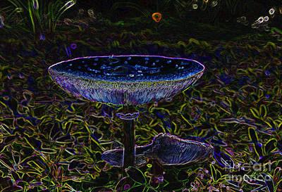 Forest Floor Painting - Magic Mushroom by David Lee Thompson