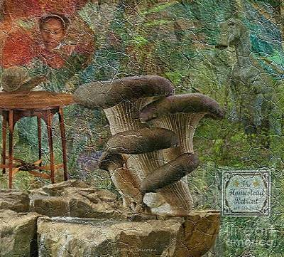 Digital Art - Magic Mushrooms by Kathie Chicoine