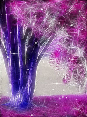 Digital Art - Magic Myrtle by Wendy J St Christopher