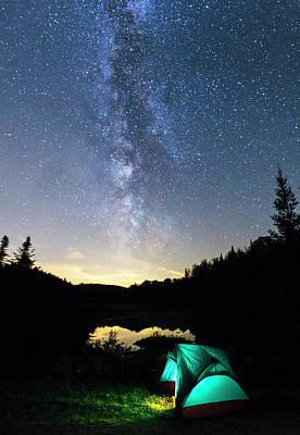Mountain Photos - Magic Night by Mircea Costina Photography