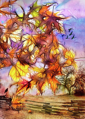 Photograph - Magic Of Autumn by Kasandra Sproson