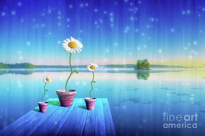 Still Life Digital Art - Magic Of Summer by Veikko Suikkanen