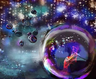 Digital Art - Magic Orbs by Diana Riukas