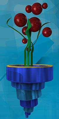 Home Digital Art - Magic Plant 1 by Alberto RuiZ