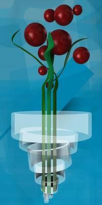 Flower Digital Art - Magic Plant by Alberto RuiZ