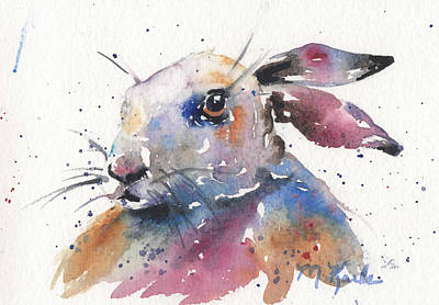 Painting - Magic Rabbit by Marsha Karle