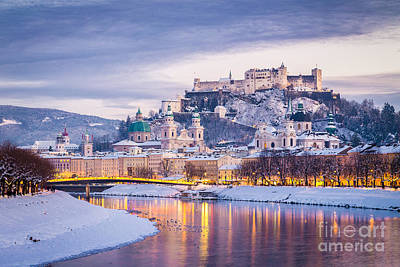 Photograph - Magic Salzburg by SW Images
