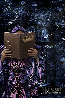 Ancient Ruins Photograph - Magic Spells Book by Amanda Elwell