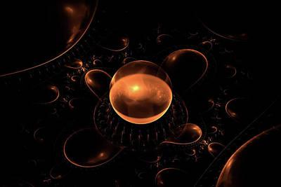 Digital Art - Magic Sphere by Anton Kalinichev
