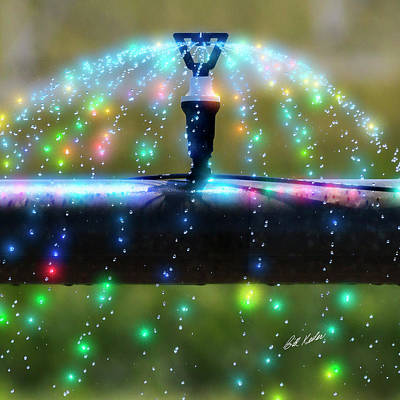 Photograph - Magic Sprinkler by Bill Kesler