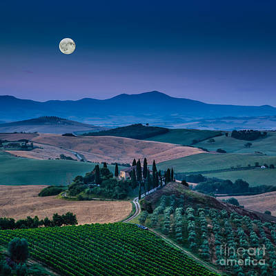 Photograph - Magic Tuscany by JR Photography