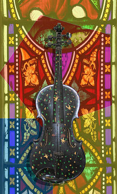 Photograph - Magic Violin 1 by Tom Conway