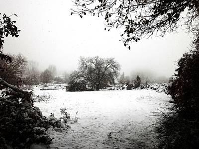 Magic Winter In Sardinia Art Print by Donatella Muggianu
