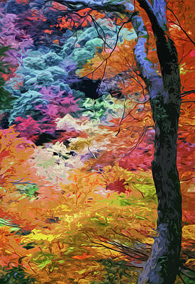 Painting - Magical Autumn by Andrea Mazzocchetti