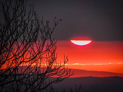 Photograph - Magical Autumn Irish Sunrise by James Truett
